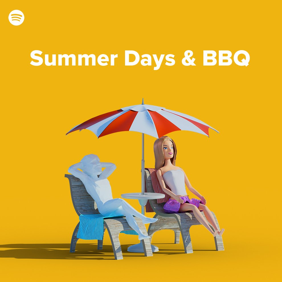 Playlist Summer Days and BBQ by Pete Surreal